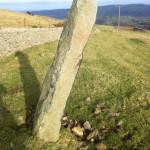 Ffon y Cawr Standing Stone, Caerhun