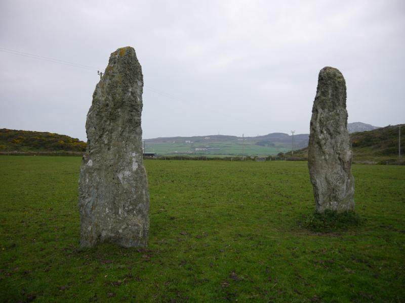 Penrhos Feliw Standing Stone Pair