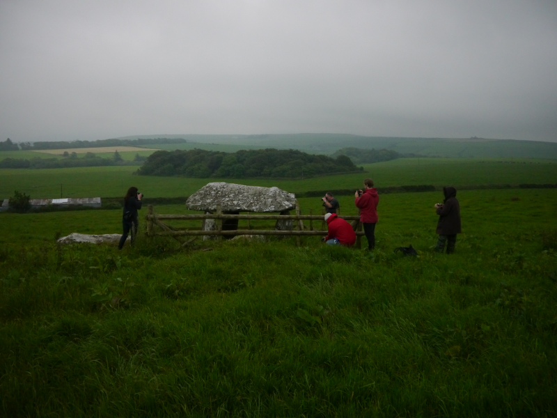 Photographing the Dolmen